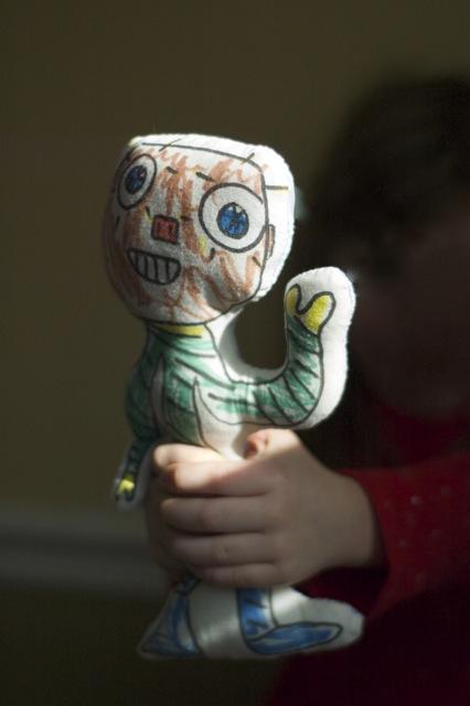 Robot-doll