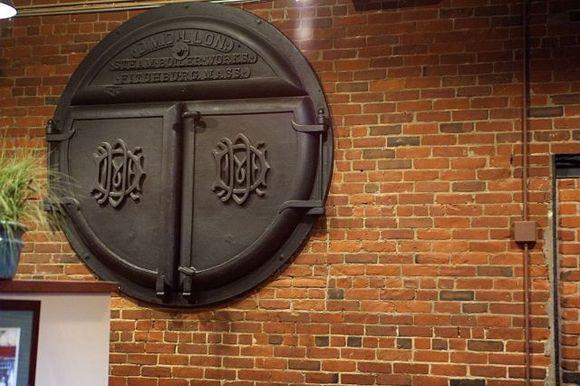 Boiler-door